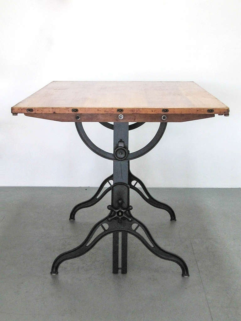Industrial drafting table at 1stdibs - Archives departementales 33 tables decennales ...