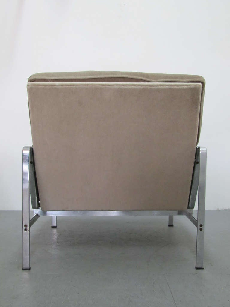 Mid-20th Century Preben Fabricius & Jørgen Kastholm Arm Chair Modell FK 6720 For Sale