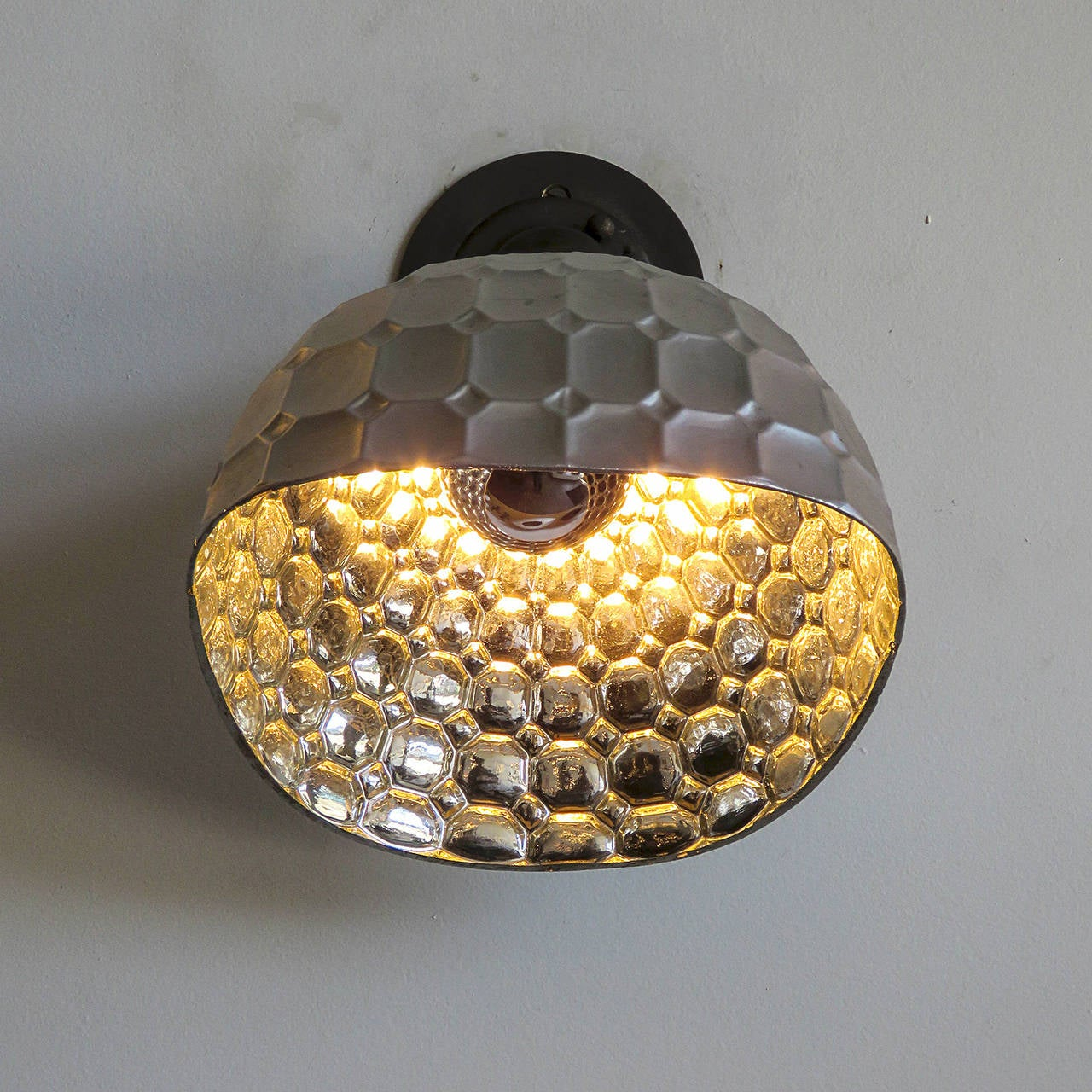 German Mercury Glass Wall Light by Reha For Sale at 1stdibs