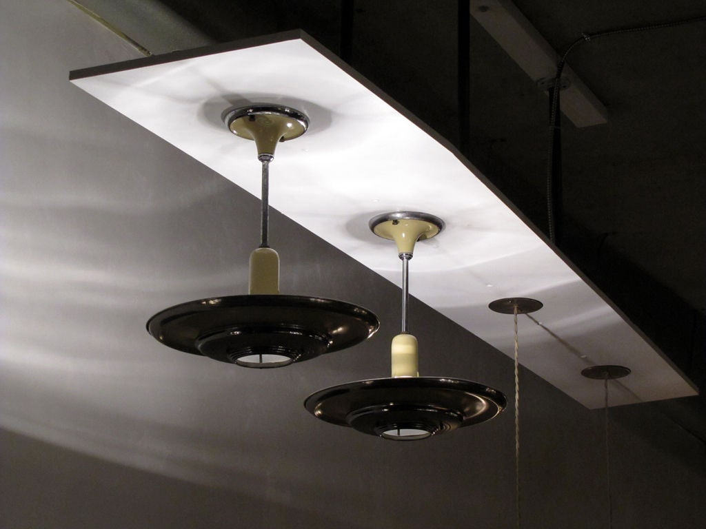 Set of 3 Silvray Ceiling Lights 10