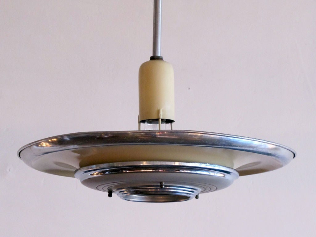 Set of 3 Silvray Ceiling Lights 4