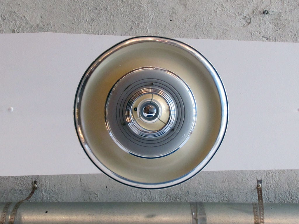Set of 3 Silvray Ceiling Lights 7