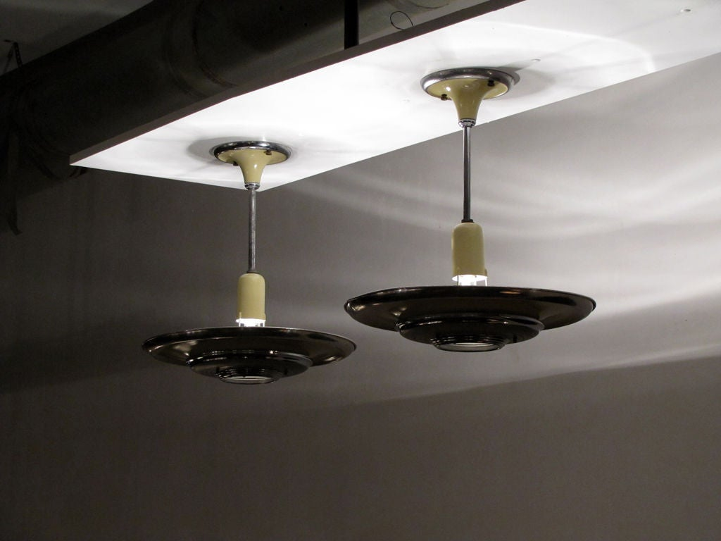 Set of 3 Silvray Ceiling Lights 9