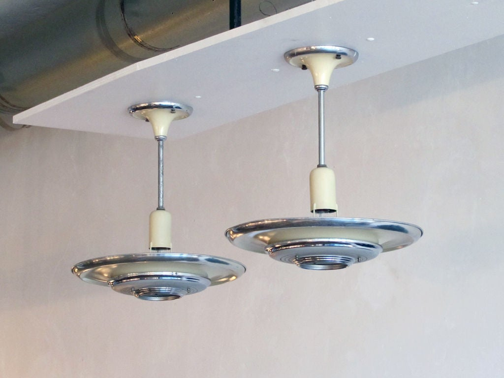 Set of 3 Silvray Ceiling Lights 5