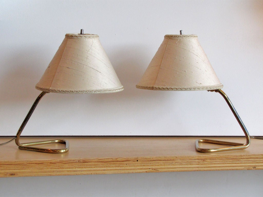 Pair of Kalmar Table/Wall Lamps at 1stdibs