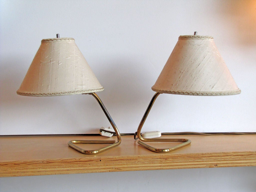 Wall Sconce With Table : Pair of Kalmar Table/Wall Lamps at 1stdibs