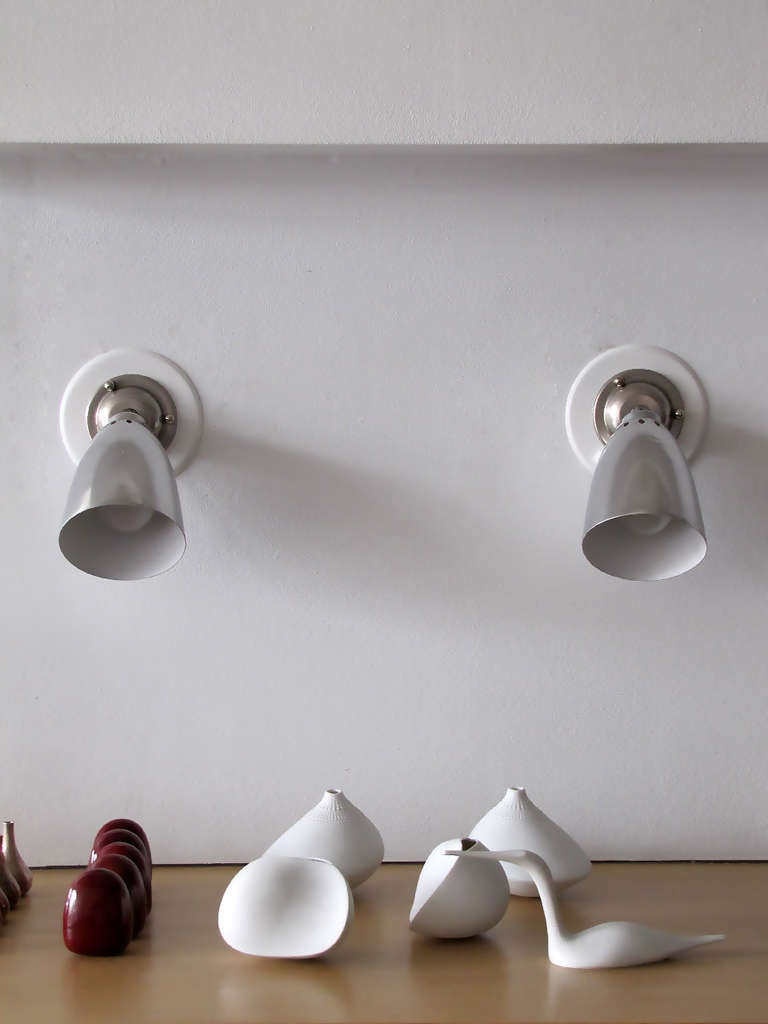 Pair of LITA Wall Lights In Good Condition For Sale In Los Angeles, CA