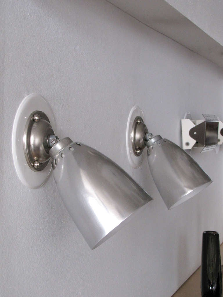 French Pair of LITA Wall Lights For Sale