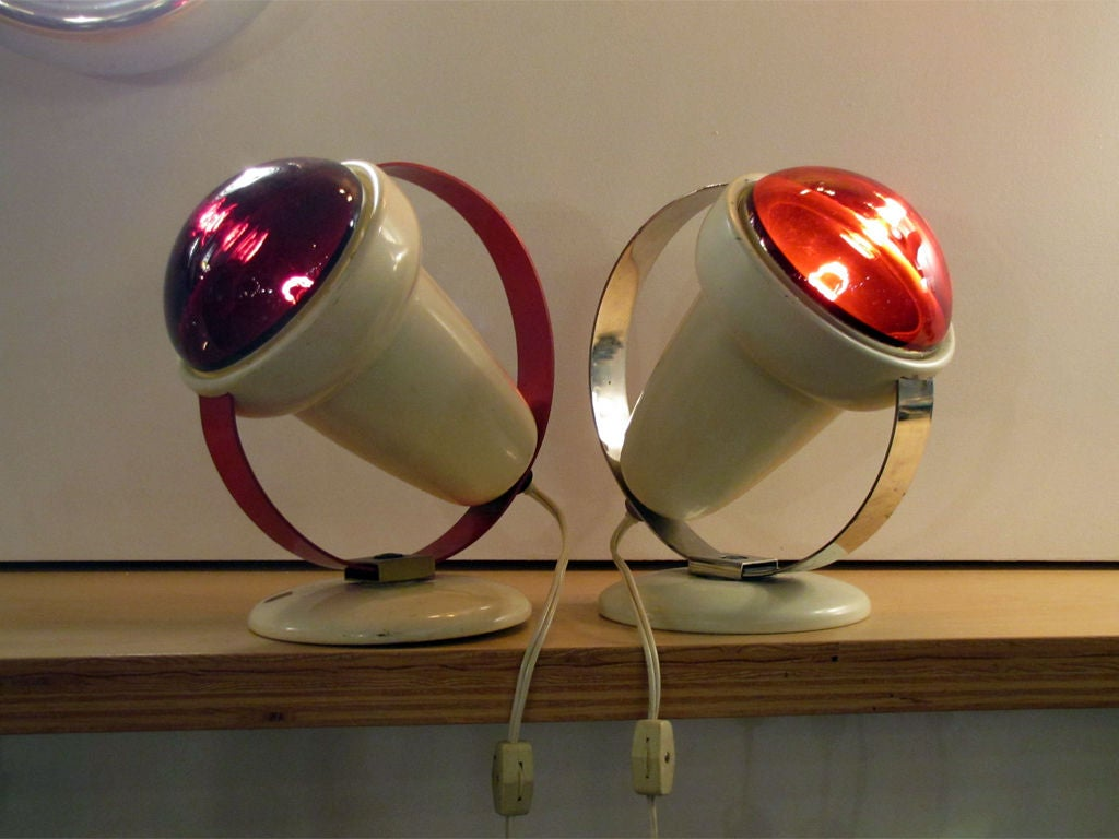 philips infraphil heat lamps for sale at 1stdibs. Black Bedroom Furniture Sets. Home Design Ideas