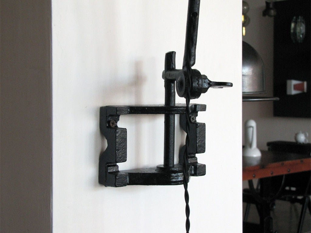 French Wall Swing Arm Wall Light at 1stdibs