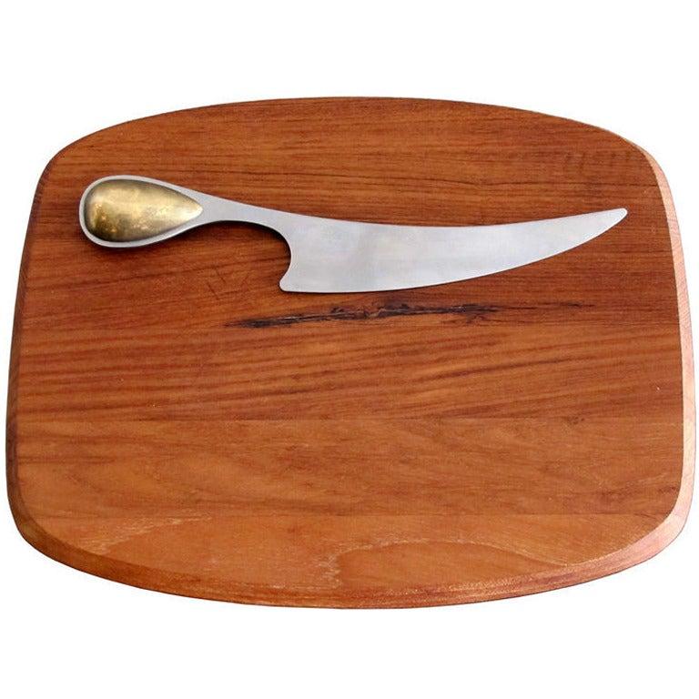 Dansk Torun Cheese Knife and Board