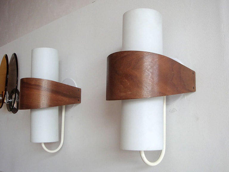 Philips Wall Lamp Shades : Philips Wall Lights NX40 at 1stdibs