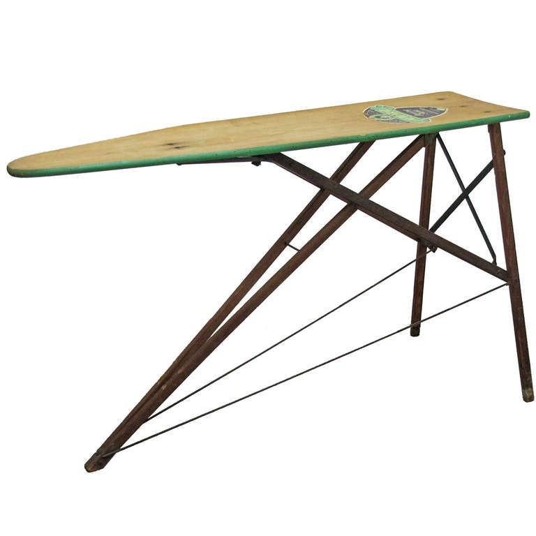 1930s Wooden Ironing Board