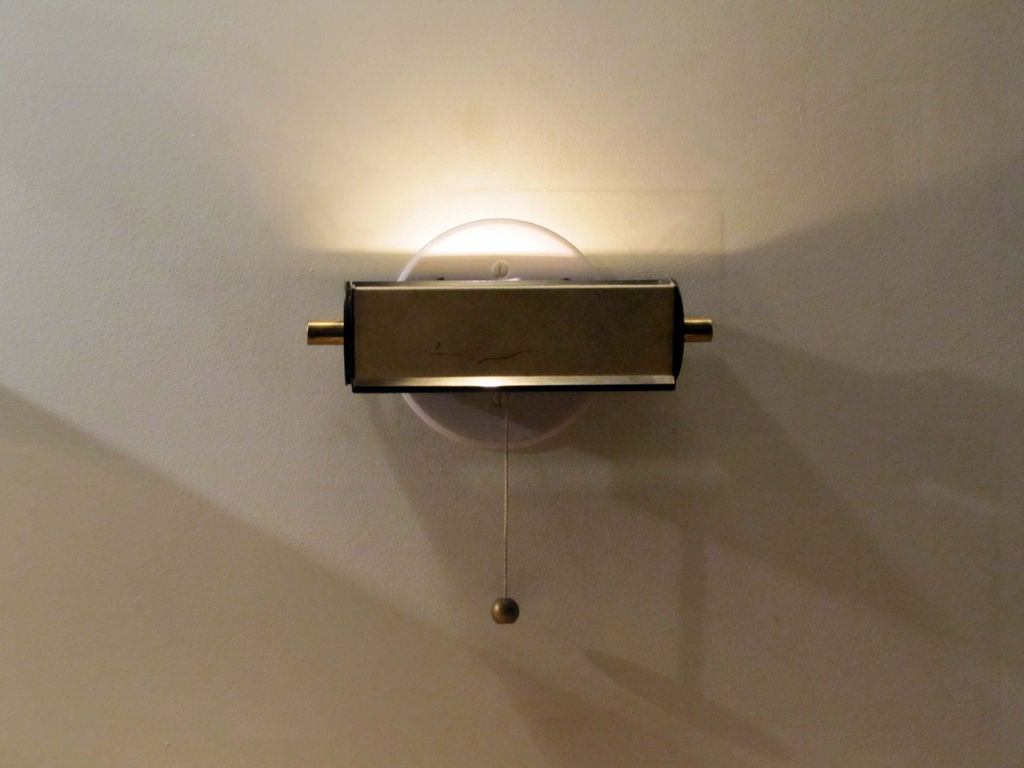 Bedside Wall Lamps : Pair of French Bedside Wall Lamps at 1stdibs