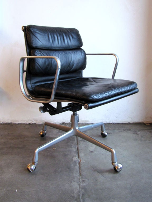 Three charles and ray eames soft pad desk chair for ibm at 1stdibs - Eames office chair original ...