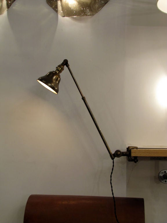 Pair of Industrial Task Lamps For Sale 4
