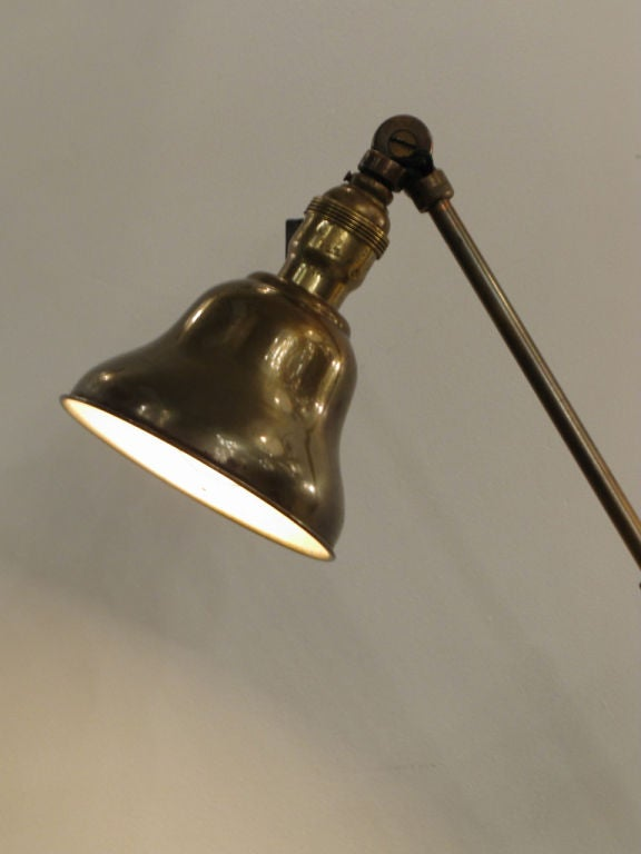 Pair of Industrial Task Lamps For Sale 3