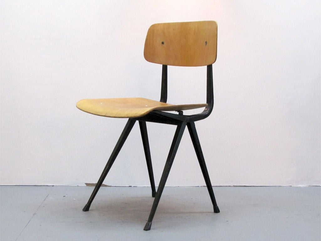 Set Of Six Friso Kramer Result Chairs At 1stdibs