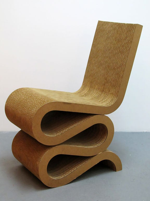 Frank Gehry Wiggle Chair Image 3