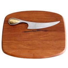 Dansk Torun Cheese Knife & Board