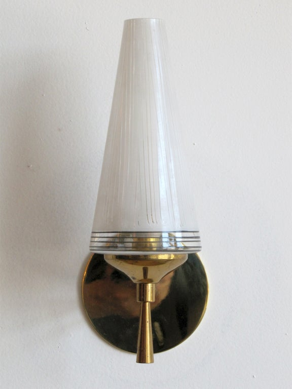 Pair Of French Wall Lamps At 1stdibs