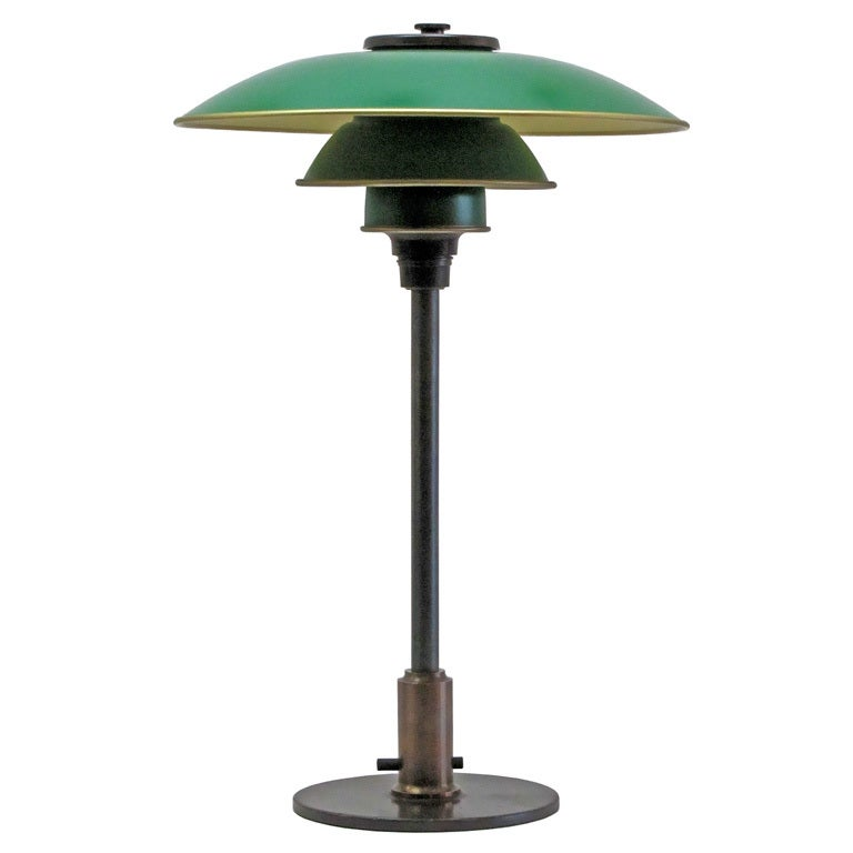 poul henningsen ph 3 2 table lamp at 1stdibs. Black Bedroom Furniture Sets. Home Design Ideas