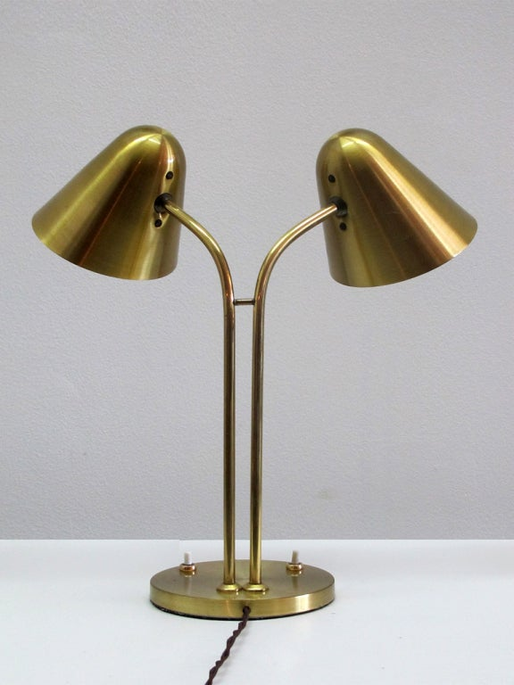 Jacques Biny Library Lamp At 1stdibs