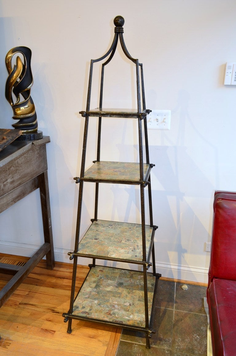 This Iron Obelisk Form Etagere is no longer available.