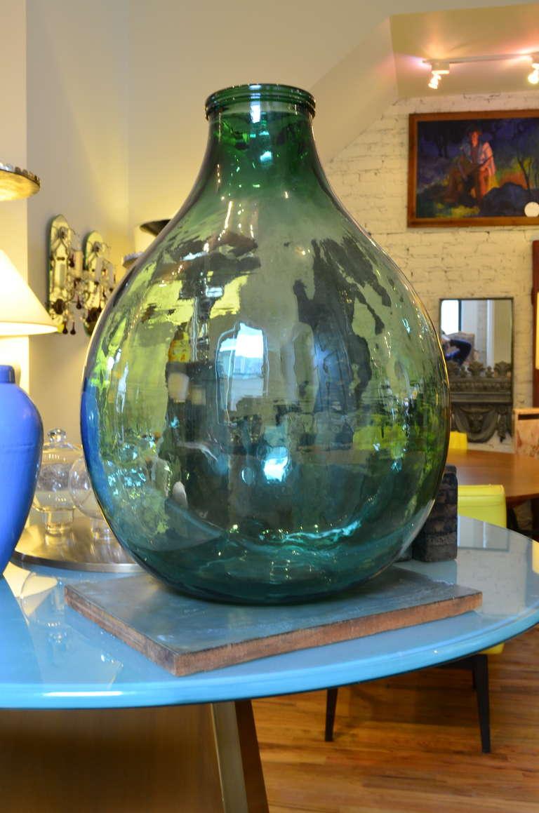 Large glass bottle at 1stdibs for Designer glass jars