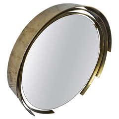 Curtis Jere Bronze Mirror