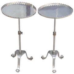 Pair Side Drinks Tables