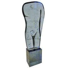 Loredano Rosin Glass Sculpture, 1970s