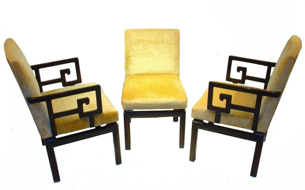 Michael Taylor Far East Baker Dining Chairs At 1stdibs