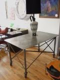 Industrial Steel Table thumbnail 2