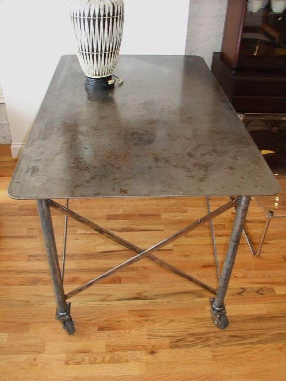 Industrial Steel Table image 4