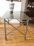 Industrial Steel Table thumbnail 5