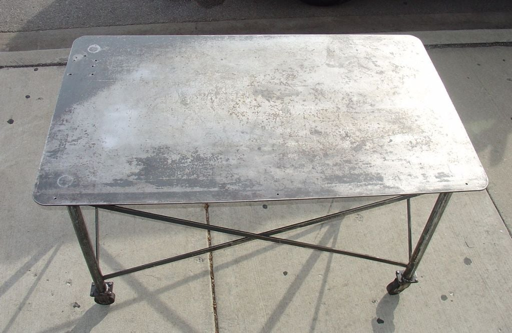 Industrial Steel Table image 9