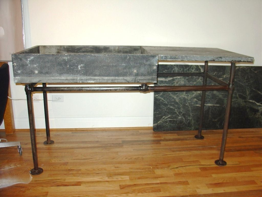 Industrial Soapstone Sink Or Wet Bar At 1stdibs