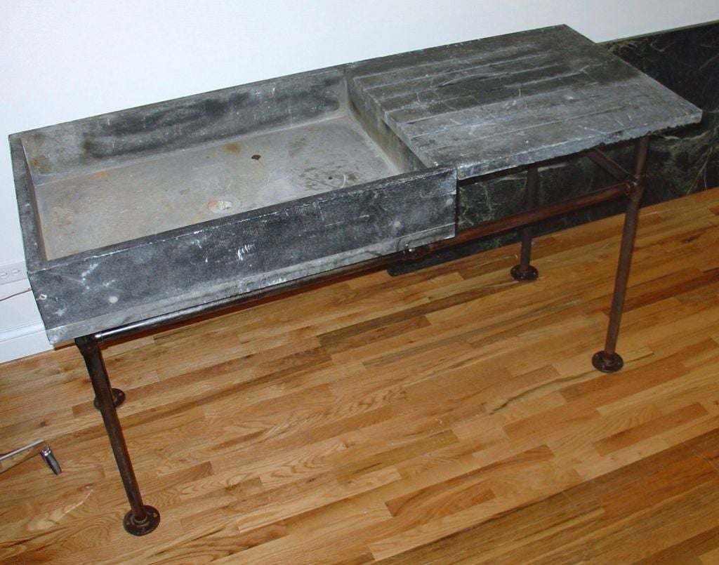Soapstone Sink : Industrial Soapstone Sink or Wet Bar at 1stdibs