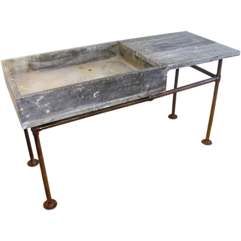 Soapstone Sink : This Industrial Soapstone Sink or Wet Bar is no longer available.