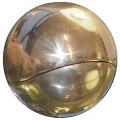 Brass Orb