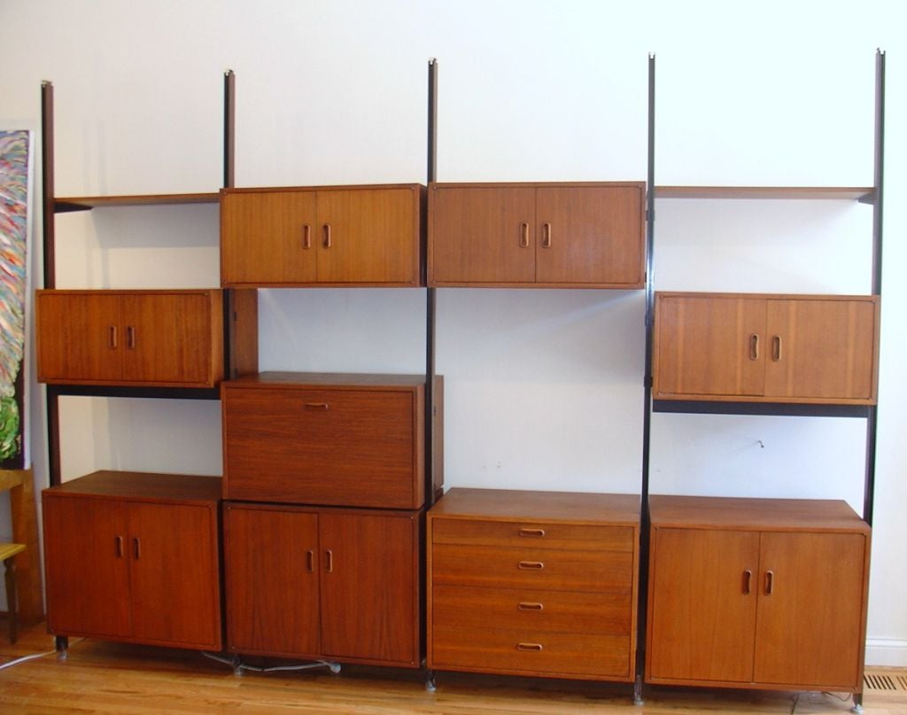George Nelson and Associates Omni Wall Unit at 1stdibs