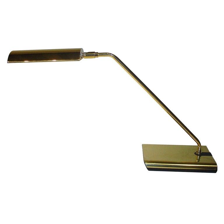 Koch And Lowy Brass Desk Lamp At 1stdibs