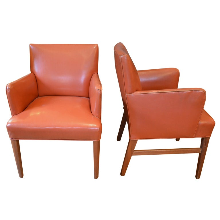 Pair of side chairs in the manner of jens risom for sale at 1stdibs - Jens risom side chair ...