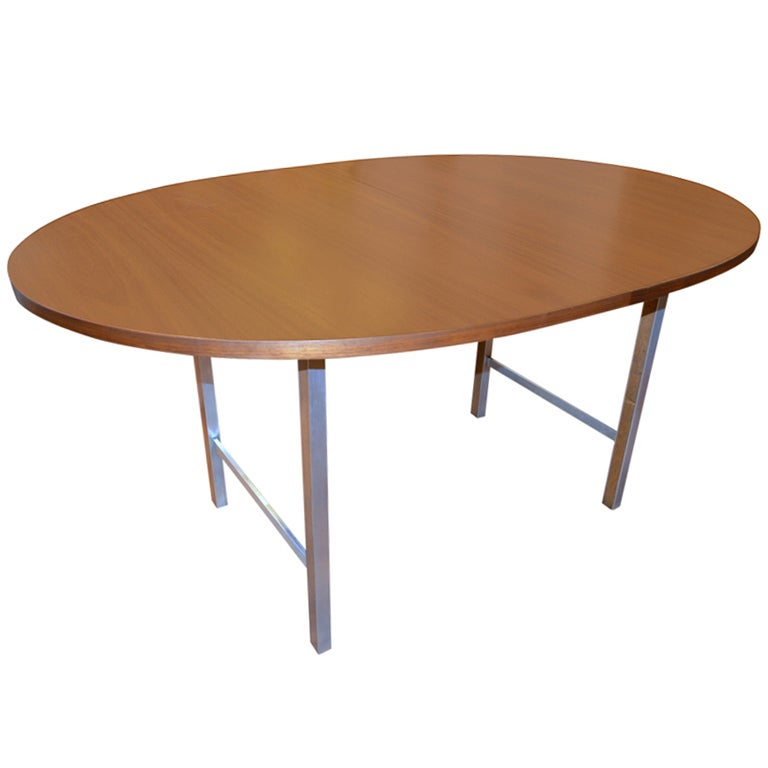oval dining tables with extensions paul mccobb oval extension dining table for at 1stdibs 7251