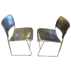 David Rowland  Stackable Chairs Priced Individually