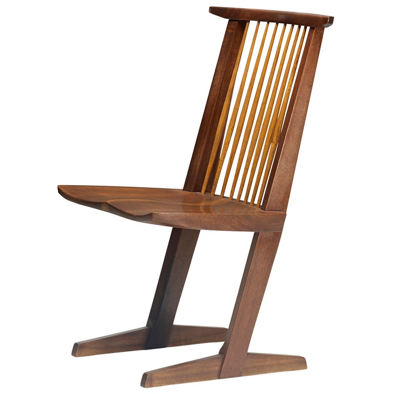 Conoid Chair By George Nakashima At 1stdibs