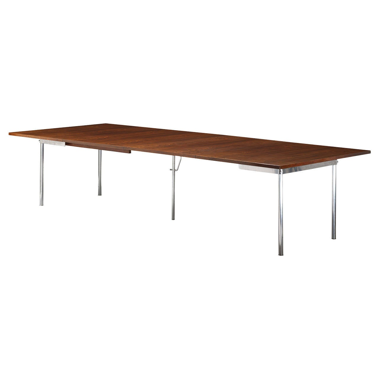 Extension dining table model at321 by hans wegner for andreas tuck at 1stdibs - Extension dining tables small spaces model ...