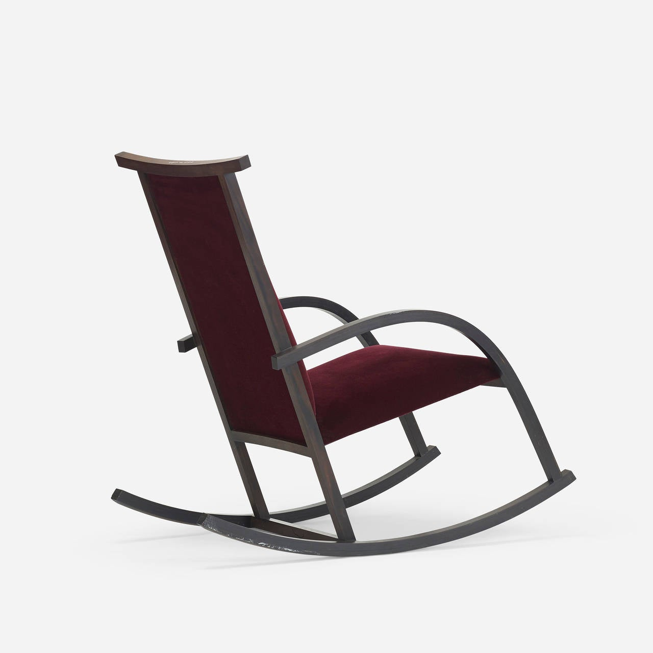 Riart Rocker By Carlos Riart For Knoll International At 1stdibs