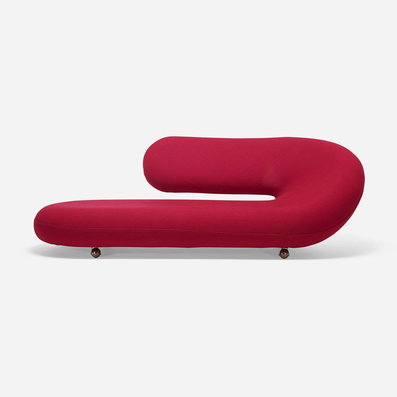 Cleopatra chaise lounge by geoffrey harcourt for artifort for Artifort chaise lounge